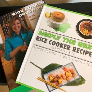 Rice Cooker Cookbooks (set)